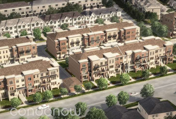 The Brownstones at Westown Stacked Townhomes